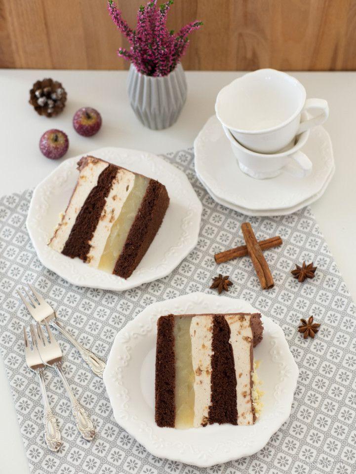 Weihnachtliche Birnentorte von Die Küchenzuckerschnecke