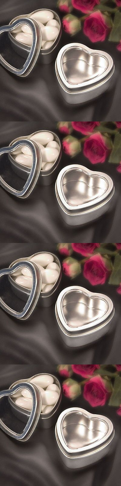 Favors and Party Bag Fillers 26385: 200 Heart Mint Tin Bridal Shower Wedding Diy Favor Party Event Bulk Lot -> BUY IT NOW ONLY: $143.99 on eBay!