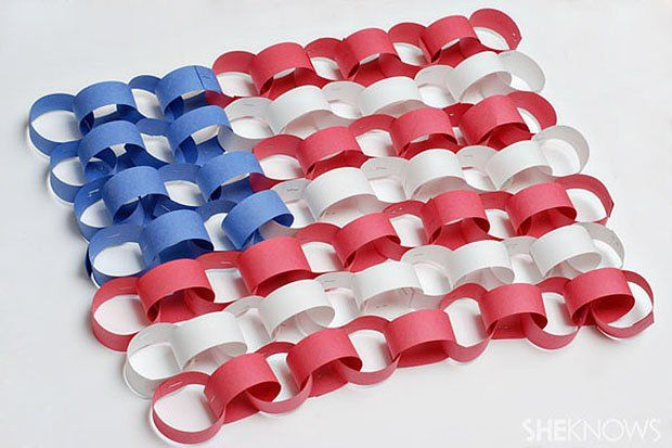 DIY Thursday: 8 Red, White and Blue Crafts for Memorial Day or 4th of July