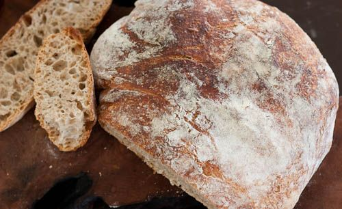 rustic whole wheat breadNo Knead Breads, Side Dishes, Recipe, Wheat Breads, Wheat No Knead, Continuous Adaptations, Grains Breads, October Meals, Breads Artisan