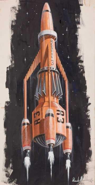 Thunderbird 3 - D. Meddings