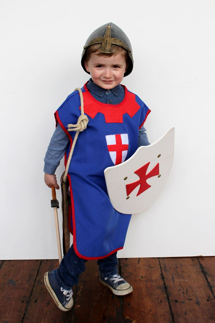 Children's St George Dressing up items available at www.waringsathome.co.uk