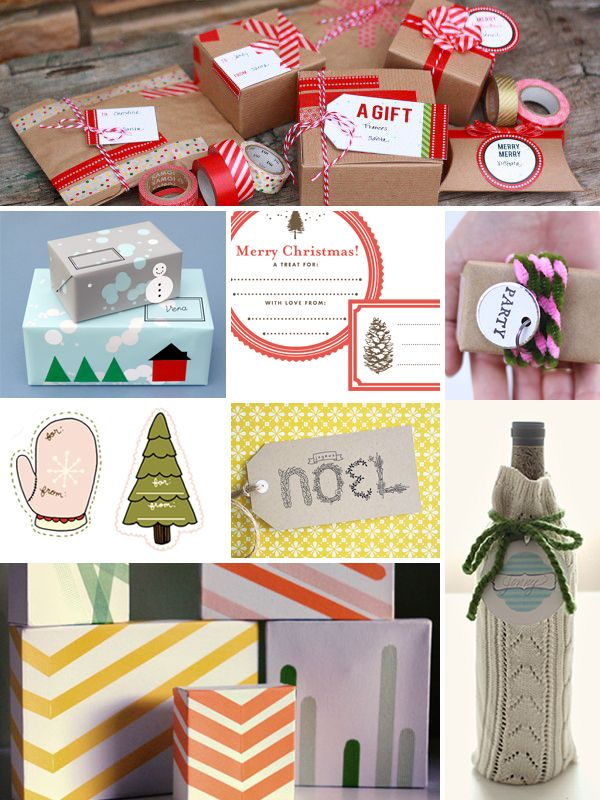 Final Holiday wrapping line up, part 1