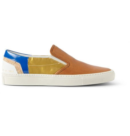 Tim Coppens x Common Projects Paneled Slip-On Sneakers