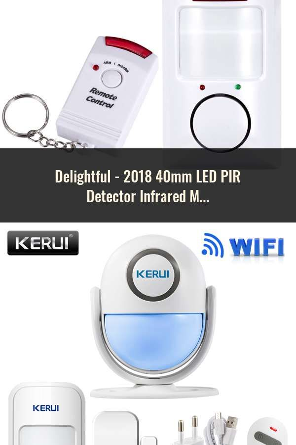 40mm Led Pir Detector Infrared Motion Sensor Switch With Time Delay Adjustable Lights & Lighting Lighting Accessories