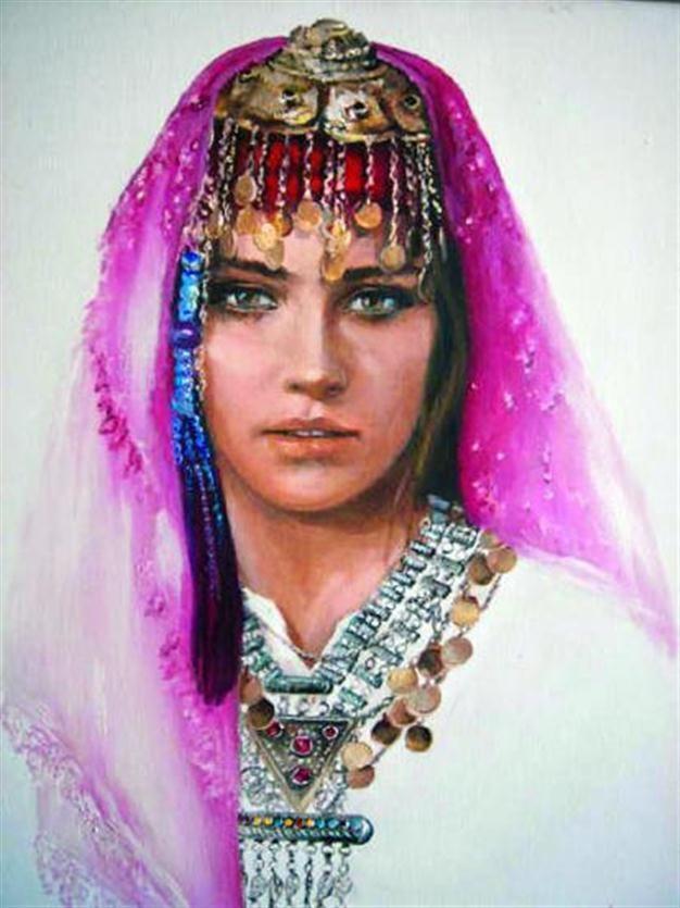 Turkey - Painting by Turkish painter Hikmet Cetinkaya