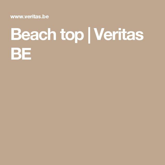 Beach top | Veritas BE