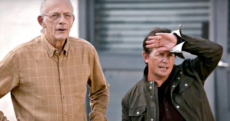 Watch Michael J. Fox & Christopher Lloyd Celebrate 'Back to the Future' Day -- Michael J. Fox and Christopher Lloyd are featured in two new videos celebrating 'Back to the Future Day' today, October 21, 2015. -- http://movieweb.com/back-to-future-day-videos-fox-lloyd/