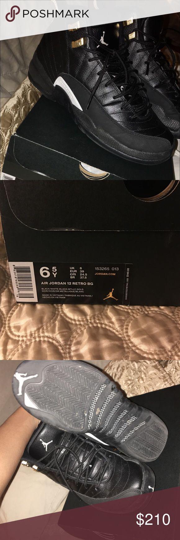 Retro master 12s All black Jordan's, super rare Jordan Shoes Sneakers