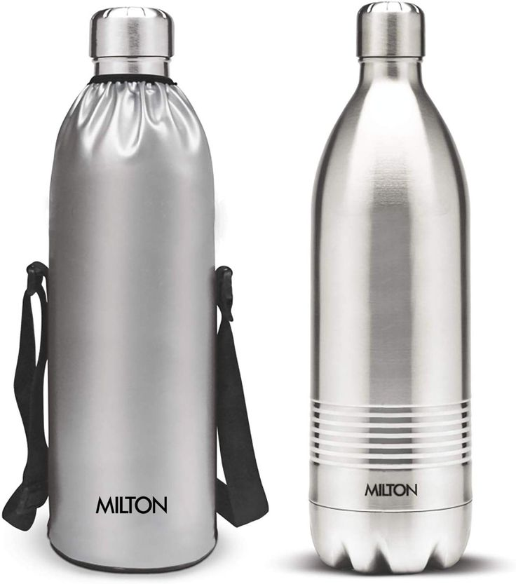 Milton Bottle Thermosteel Stainless Steel Duo 1800ml Water Bottle With Jacket Keep Your Hot Or Cold Water Bottle Stainless Steel Water Bottle Bottle