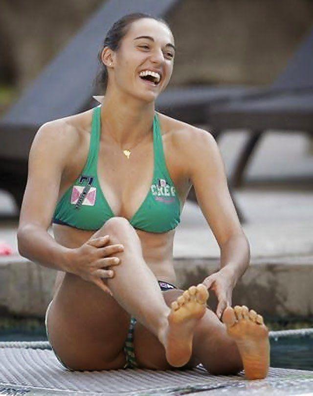 Pin by Tennisfan on Caroline Garcia | Tennis, Swimsuits