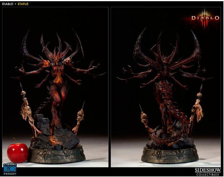 Diablo 3 Statue - Over en halv meter! fra Gamezone. Om denne nettbutikken: http://nettbutikknytt.no/gamezone-no/