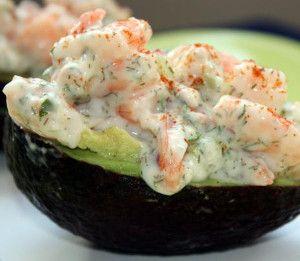 Shrimp-Stuffed Avocado Recipe