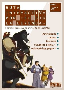 À l'appui d'El Cid la leyenda, film d'animation de J. Pozo, Ruta interactiva invite les collégiens et lycéens à découvrir un héros majeur de l'Espagne médiévale. Doté d'un cahier numérique personnalisable, le parcours articule 96 activités, 52 min. d'audiovisuel en 13 étapes modulables