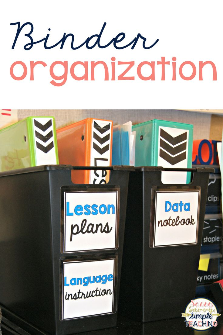 Looking for a better way to store your teacher binders? Use these bins from Big Lots for a perfect fit! No more falling or uneven binders on a shelf. Add some labels and you are done! These labels are from Target Dollar Spot. Binders are easy for you to see! Click for more Teacher Ideas!