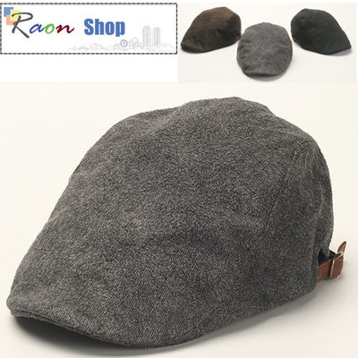 Men Style Newsboy Flat Hat Suede Ivy Cap Beret Gray Gatsby-Look Cabbie