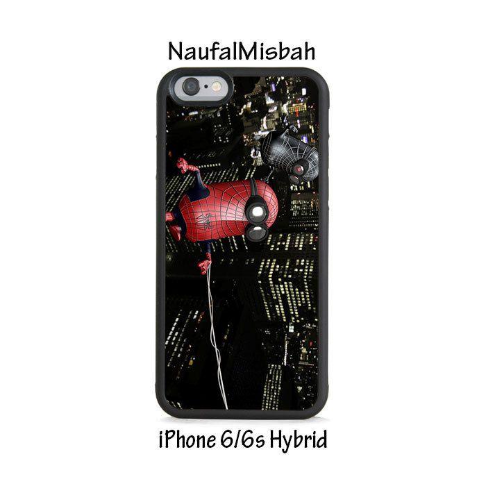 Spiderman Despicable Me Minion iPhone 6/6s HYBRID Case Cover