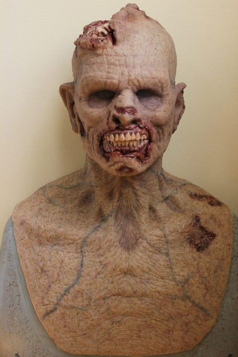 The Zombie silicone mask - Our silicone masks - Realflesh masks