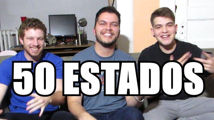 50 ESTADOS 🇺🇸 QUE PRONUNCIAMOS ERRADO - ft. Mano Ian & Tim Explica