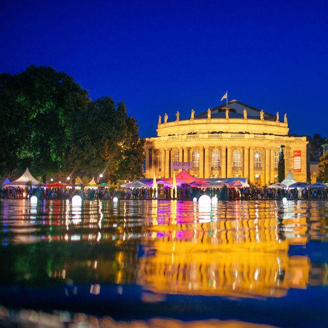 Jedes Jahr ein Highlight, für alle, die ab heute bis zum 9. August in Stuttgart unterwegs sind: Das Stuttgarter Sommerfest – wohl eines der schönsten Stadtfeste Deutschlands. Freuen Sie sich auf Top-Gastronomen, kühle Drinks und erstklassige Live-Musik. Ideal, um nach einem Kongress oder vor einem Konzert vorbeizuschauen. Mehr unter http://stuttgarter-sommerfest.de/de/home/