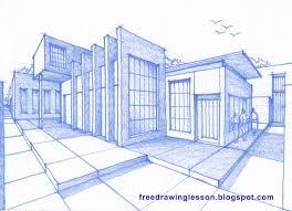 Resultado de imagen para bocetos de casas modernas dibujos - Dibujos de casas modernas ...