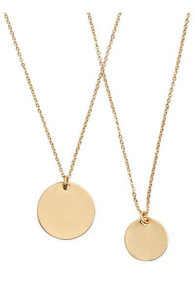 2-pack necklaces | H&M