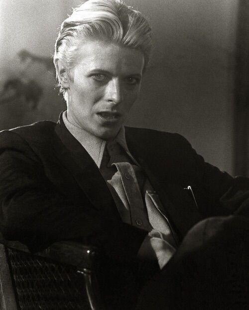 "vezzipuss.tumblr.com — David Bowie, ""TMWFTE"", Circa 76 〰️〰️"