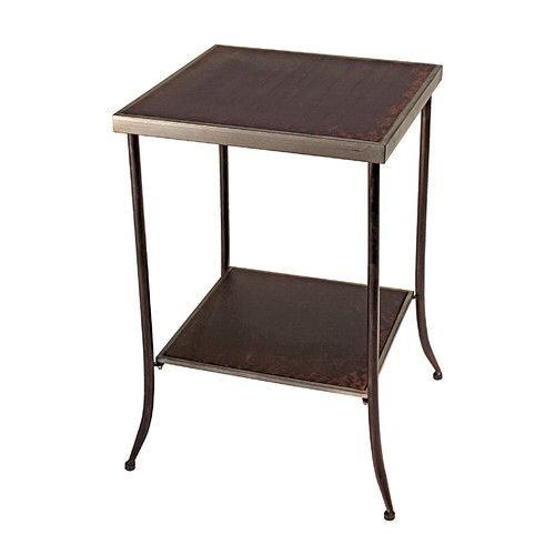 Found it at Wayfair - Tapered Leg Metal End Table
