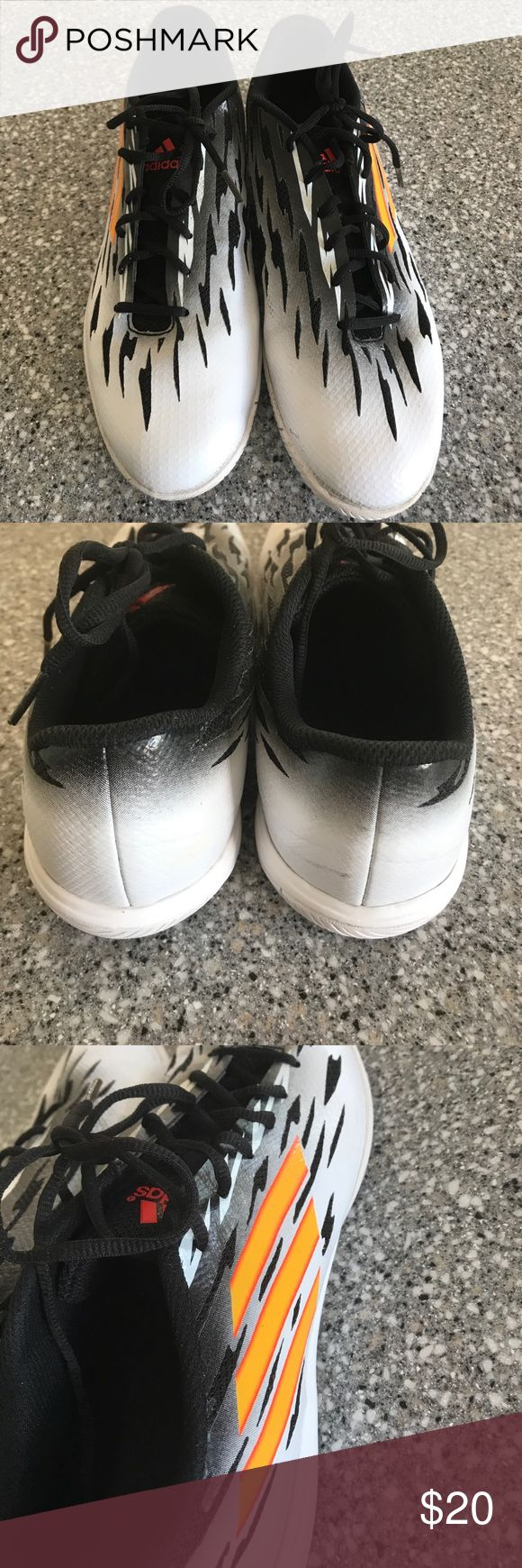 Adidas Indoor Futsol Soccer Shoes Size 11 Great used condition. Size 11 Shoes Athletic Shoes