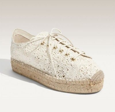 Ralph Lauren crochet shoes