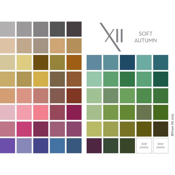 82 Best Soft Autumn Palettes Images On Pinterest Color