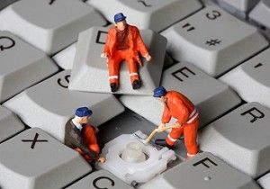 Fixing the keyboard...
