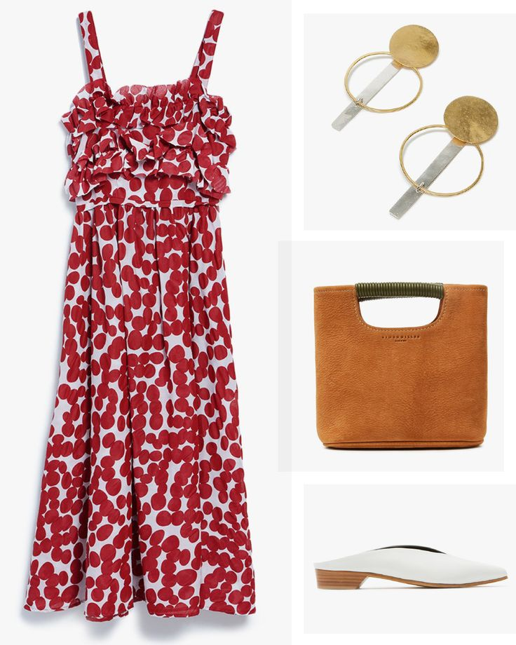 3 Next-Level Outfits You Have to Snag from Need Supply Co. - Fresh Spring Dress: from InStyle.com