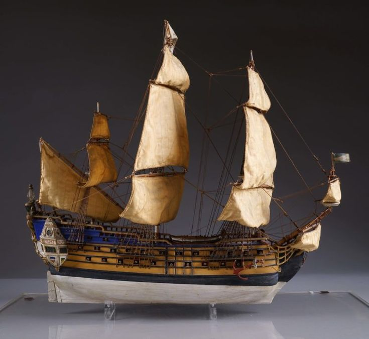 """Billions of Bilious Blue Blistering Barnacles!"" A model of the Unicorn ship built in 1942 for Hergé himself will be sold in an auction in Brussels. This model was made to help Hergé draw the Tintin album ""The Secret of the Unicorn"". Estimation: between 15 and 20 000 Euros"