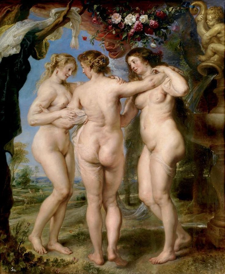 Las tres Gracias (The Three Graces), 1630-35