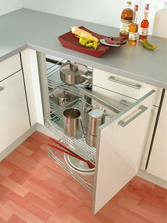 another view - smart saving space corner cabinet solutions kitoca