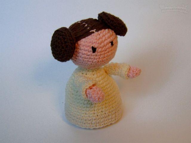 Como hacer a la princesa Leia en crochet