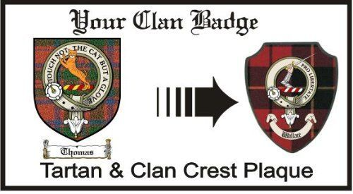 Thomas Clan Mackintosh Clan Badge Plaque . $29.99