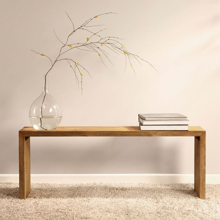 Renate Natural 48 Inch Dining Room Bench