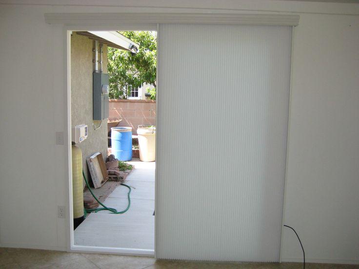Vertical Cellular Blinds Sliding Glass Doors