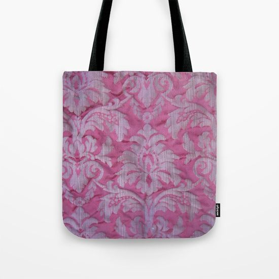 Vintage old embroidered fabric Tote Bag