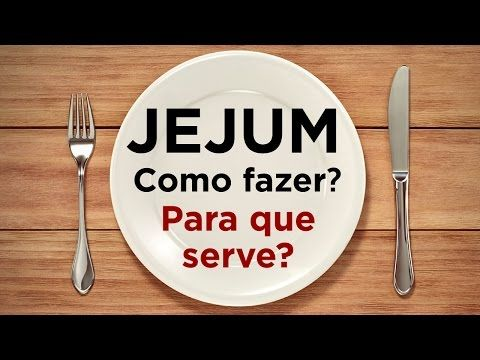 JEJUM: Como jejuar? Para que serve? Jejum de Daniel - (AO VIVO) - YouTube