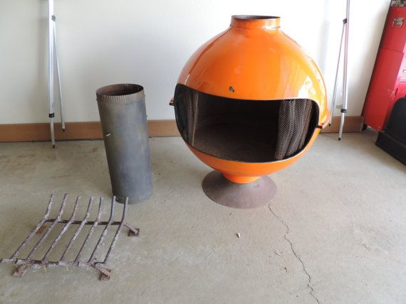 1000 images about fireplace heaters on pinterest - Mid century modern wood stove ...