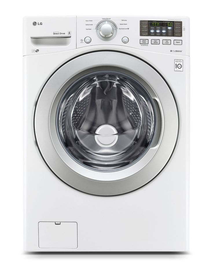 Washers and Dryers - LG Appliances White Front-Load Washer (5.0 Cu. Ft.) - WM3170CW - Recommended by Consumer Reports