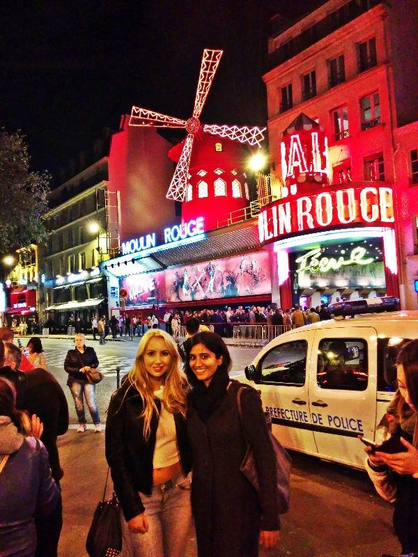 Moulin Rouge is a cabaret in Paris, France. The house was co-founded in 1889 by Charles Zidler and Joseph Oller, who also owned the Paris Olympia.