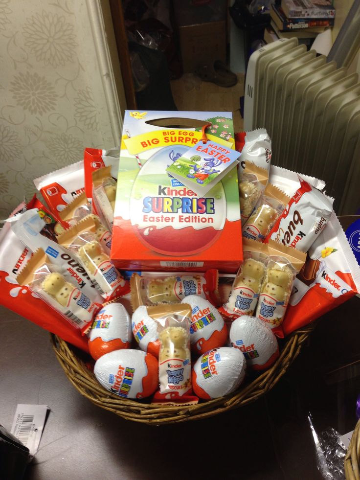 Kinder Egg Easter Hamper