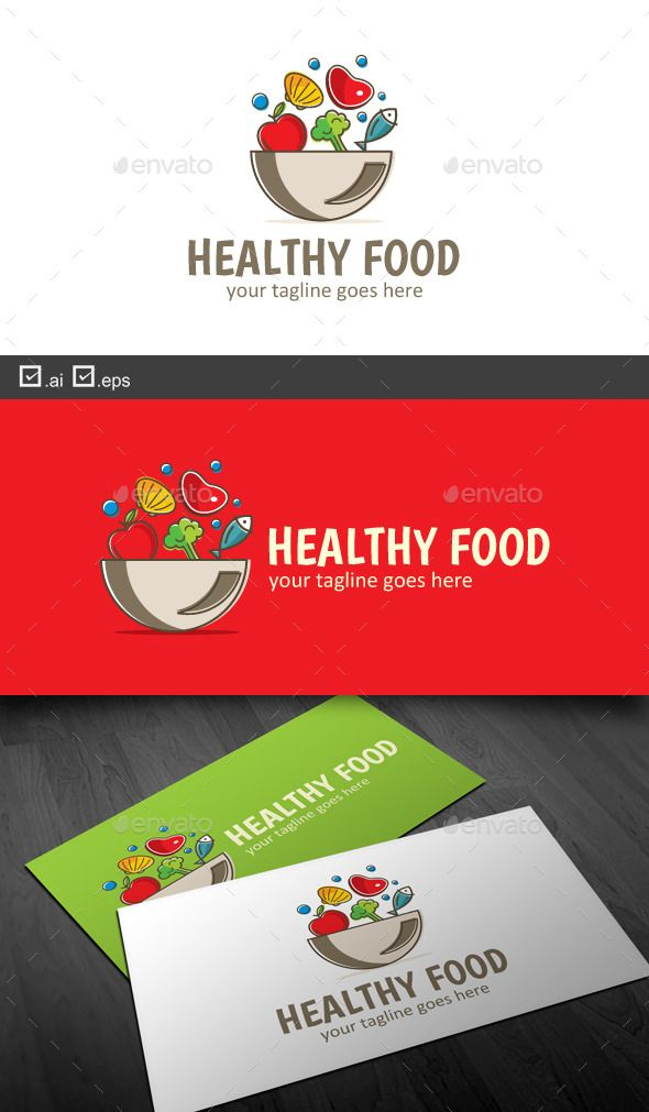 Healthy Food — Vector EPS #Food Stock #template • Available here → https: