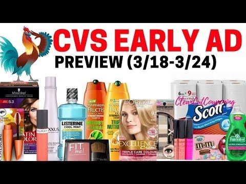 CVS EARLY AD PREVIEW (3/18-3/24) Hair Care, Cosmetics, Candy, Household Deals+Revlon Coupon Winners! http://cosmetics-reviews.ru/2018/03/13/cvs-early-ad-preview-3-18-3-24-hair-care-cosmetics-candy-household-dealsrevlon-coupon-winners/