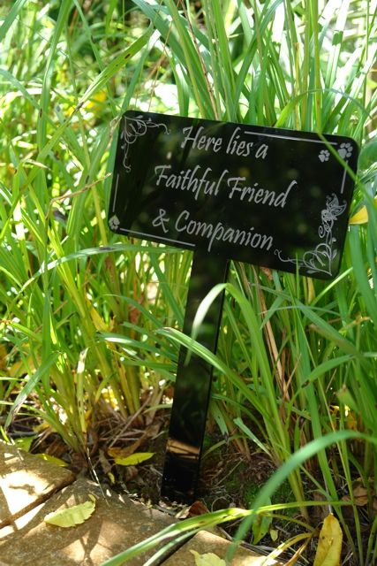 Garden Marker for your special friend