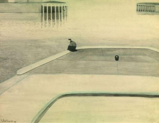 Léon Spilliaert. Solitude 1909